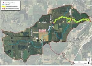 Rice Creek Map 7-9-18
